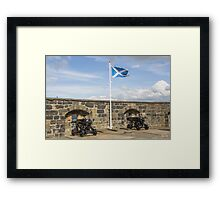 The Canons - Edinburgh Castle Framed Print
