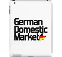 German Domestic Market (1) iPad Case/Skin