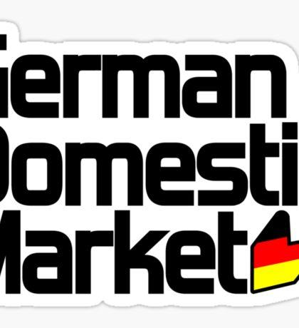 German Domestic Market (1) Sticker