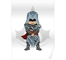 Assassin's Creed Revelations Chibi Ezio Auditore Poster