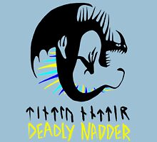 DEADLY NADDER - Sharp Class Symbol Womens Fitted T-Shirt