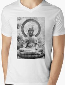 The Buddha, Statue Mens V-Neck T-Shirt
