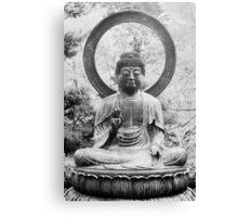 The Buddha, Statue Canvas Print