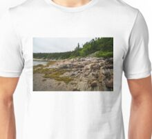 Low Tide - Walking on the Bottom of Saint Lawrence River Unisex T-Shirt