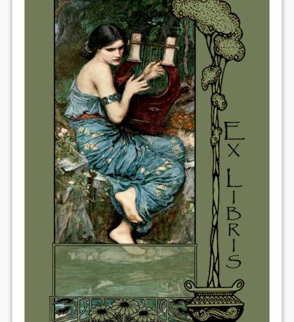 Ex Libris - The Charmer Book Plate Sticker