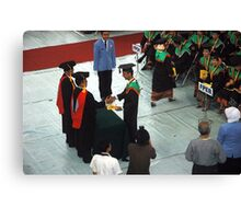 college graduation Canvas Print