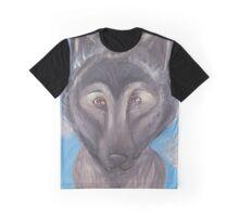 Wolf Dog Hybrid  Graphic T-Shirt