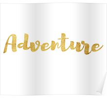 Adventure in Gold Poster