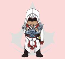 Assassin's Creed Brotherhood Chibi Ezio Auditore Kids Clothes