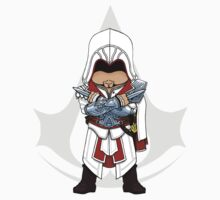Assassin's Creed Brotherhood Chibi Ezio Auditore Kids Clothes