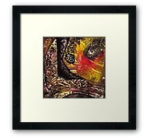Shaman World 3 of 3 Framed Print