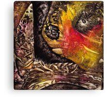 Shaman World 3 of 3 Canvas Print