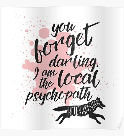 The Local Psychopath Poster