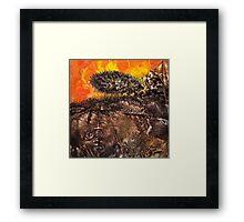 Shaman World 2 of 3 Framed Print