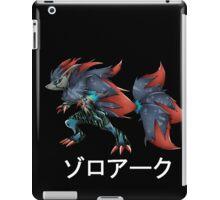 zoroark with japanese custom logo iPad Case/Skin