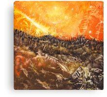 Shaman World 1 of 3 Canvas Print