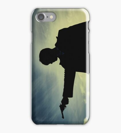 Tommy Shelby - Peaky Blinders - Cillian Murphy Poster iPhone Case/Skin