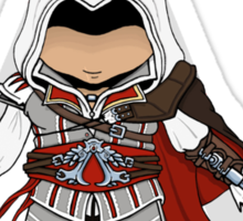Assassins Creed 2 Chibi Ezio Auditore da Firenze Sticker