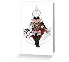 Assassins Creed 2 Chibi Ezio Auditore da Firenze Greeting Card