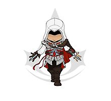 Assassins Creed 2 Chibi Ezio Auditore da Firenze Photographic Print