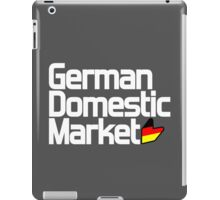 German Domestic Market (3) iPad Case/Skin