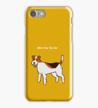 Wire Fox Terrier iPhone Case/Skin