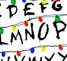 Stranger Things - Christmas Lights  Sticker