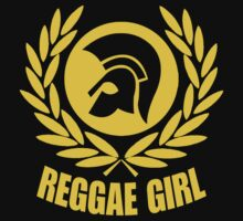 REGGAE GIRL Kids Tee