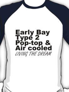 Early Bay Pop Type 2 Pop Top Black LTD T-Shirt