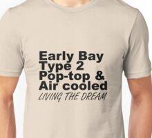 Early Bay Pop Type 2 Pop Top Black LTD Unisex T-Shirt