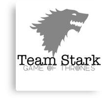 Game of Thrones - Team Stark Canvas Print