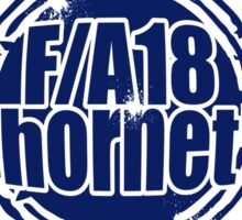 F/A 18 Hornet Wings  Sticker