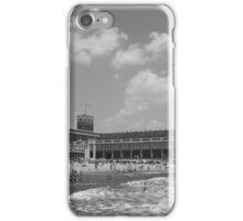Black and white Convention Hall iPhone Case/Skin