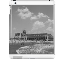 Black and white Convention Hall iPad Case/Skin