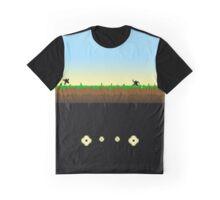 Flower Picking Graphic T-Shirt