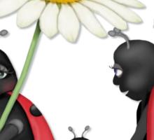 Ladybug Stroll  Sticker