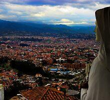 Watching Over Cuenca by Al Bourassa