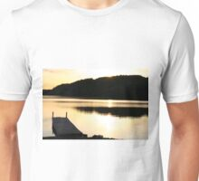 The Dock at Sunset Unisex T-Shirt