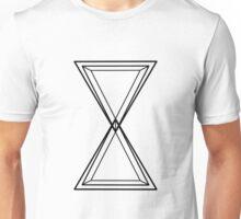 H O U R // G L A S S  Unisex T-Shirt