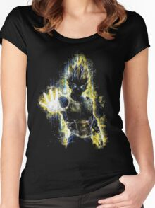 Vegeta Women's Fitted Scoop T-Shirt