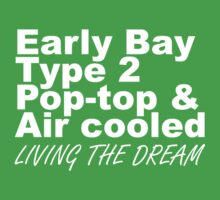 Early Bay Pop Type 2 Pop Top White Kids Clothes