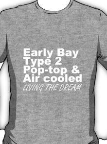 Early Bay Pop Type 2 Pop Top White LTD T-Shirt
