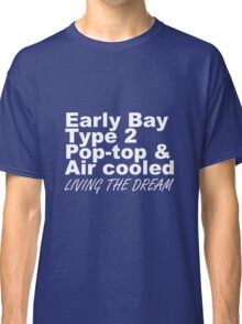 Early Bay Pop Type 2 Pop Top White LTD Classic T-Shirt