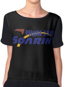 Soarin Flight 5505 Women's Chiffon Top