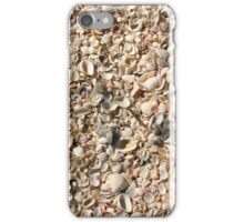 Seashell Sand, Gasparilla Island, Florida iPhone Case/Skin