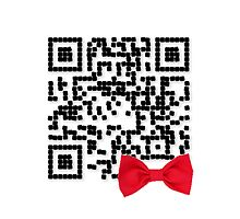 Doctor Who - Bow Ties are Cool QR Code by Ed Warick