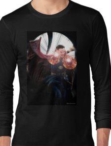 Doctor Strange rune edit Long Sleeve T-Shirt
