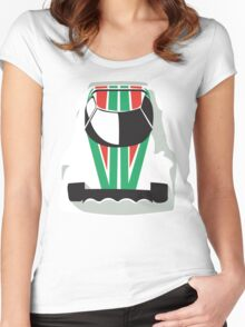 Lancia Stratos rally Women's Fitted Scoop T-Shirt