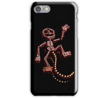 Los Muertos Mono iPhone Case/Skin