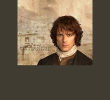 Outlander/Jamie Fraser with Lallybroch background Unisex T-Shirt